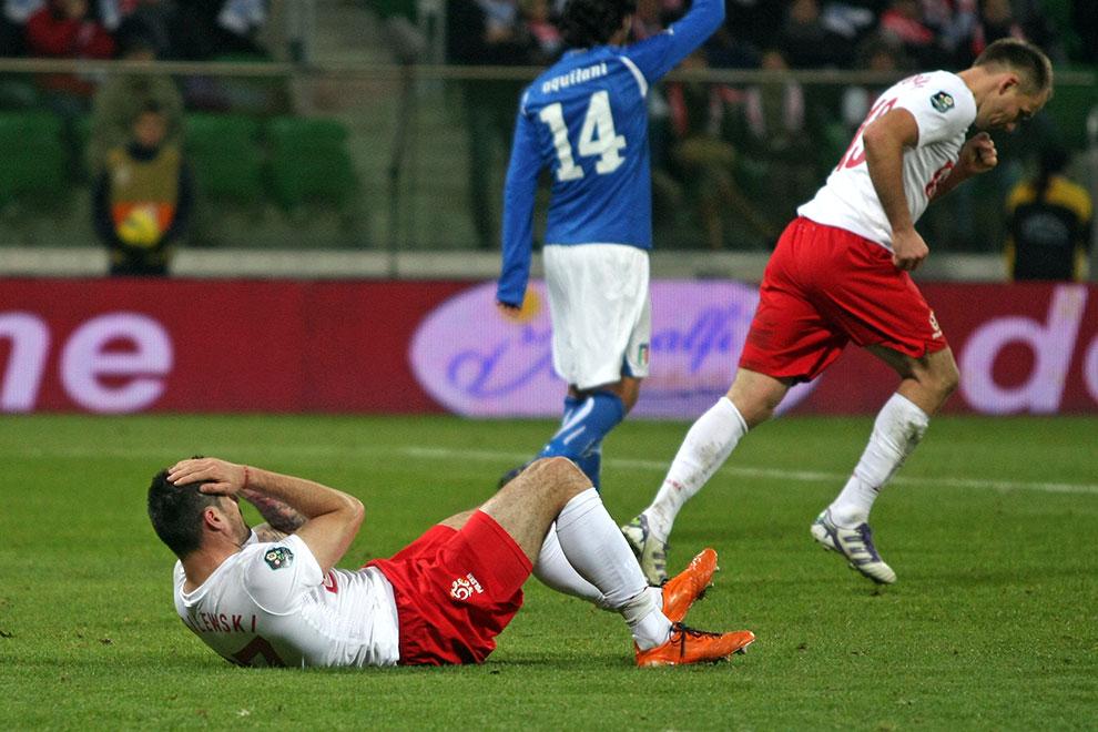 Polska 0-2 Włochy - fot. Piotr Galas (zdjęcie 53 z 61)