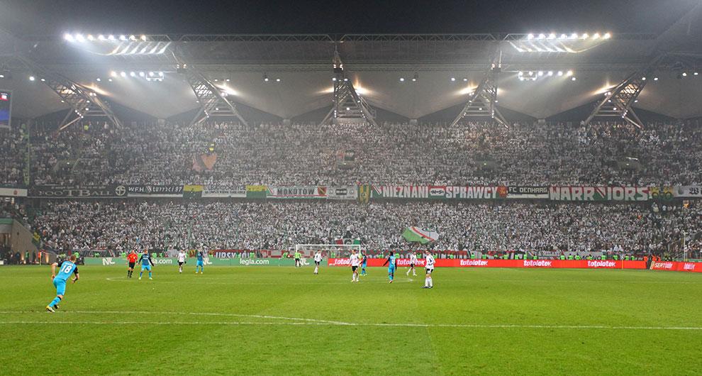 Legia Warszawa 0-3 PSV Eindhoven - fot. Piotr Galas (zdjęcie 13 z 42)