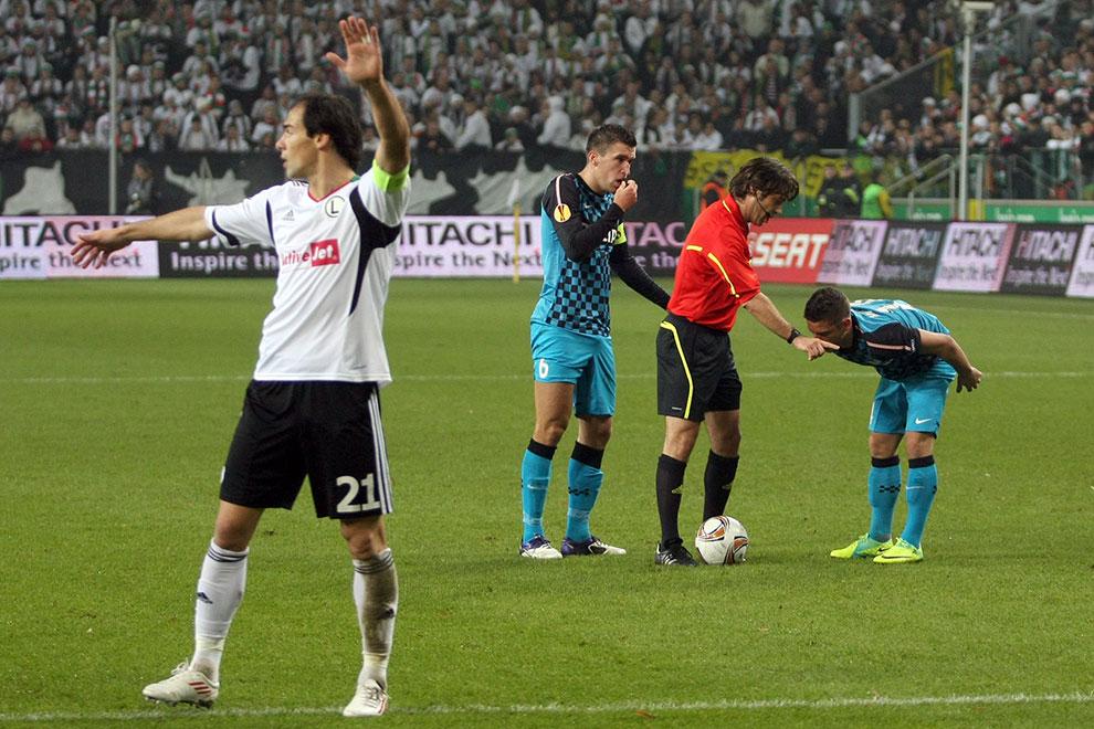 Legia Warszawa 0-3 PSV Eindhoven - fot. Piotr Galas (zdjęcie 15 z 42)