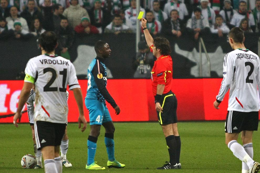 Legia Warszawa 0-3 PSV Eindhoven - fot. Piotr Galas (zdjęcie 18 z 42)