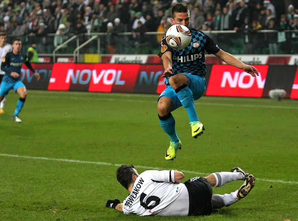 Legia Warszawa 0-3 PSV Eindhoven - fot. Piotr Galas (zdjęcie 19 z 42)