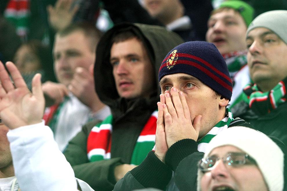 Legia Warszawa 0-3 PSV Eindhoven - fot. Piotr Galas (zdjęcie 21 z 42)