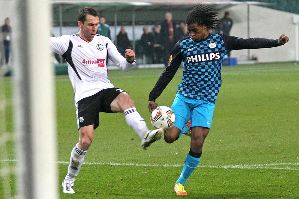 Legia Warszawa 0-3 PSV Eindhoven - fot. Piotr Galas (zdjęcie 23 z 42)