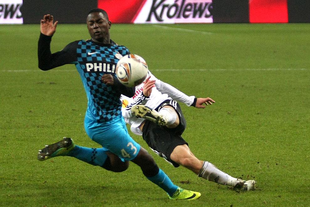 Legia Warszawa 0-3 PSV Eindhoven - fot. Piotr Galas (zdjęcie 30 z 42)