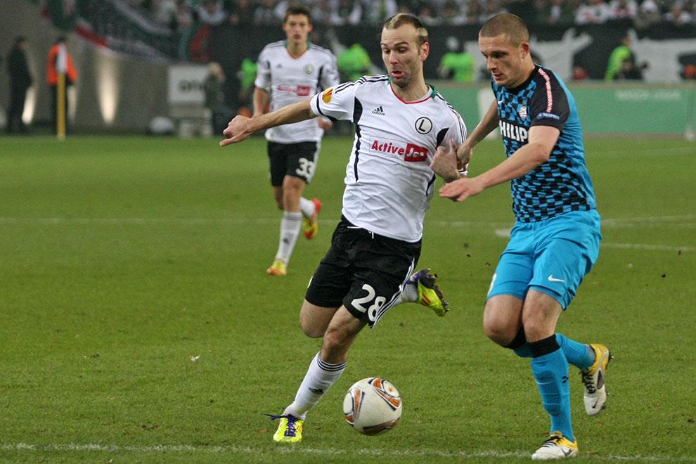 Legia Warszawa 0-3 PSV Eindhoven - fot. Piotr Galas (zdjęcie 31 z 42)