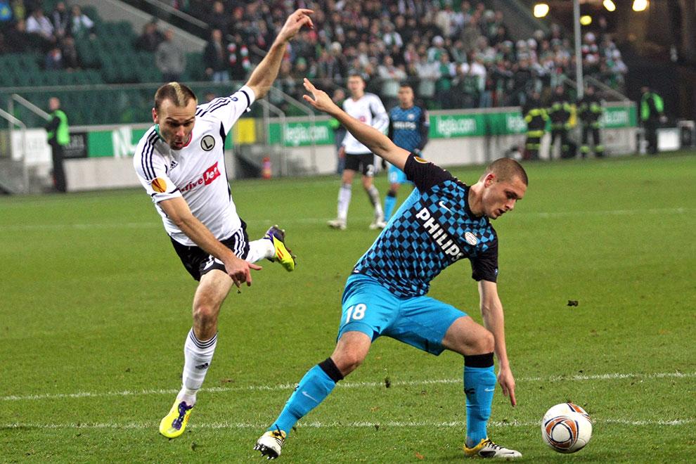Legia Warszawa 0-3 PSV Eindhoven - fot. Piotr Galas (zdjęcie 32 z 42)