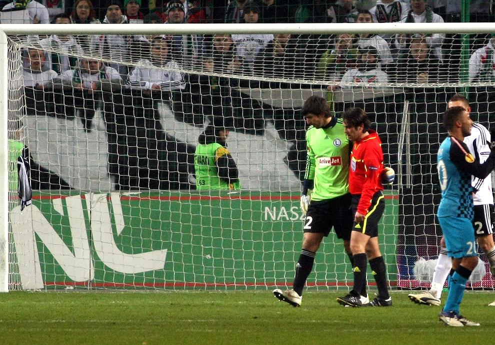 Legia Warszawa 0-3 PSV Eindhoven - fot. Piotr Galas (zdjęcie 33 z 42)