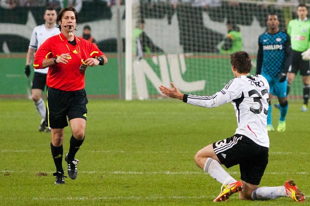 Legia Warszawa 0-3 PSV Eindhoven - fot. Piotr Galas (zdjęcie 34 z 42)
