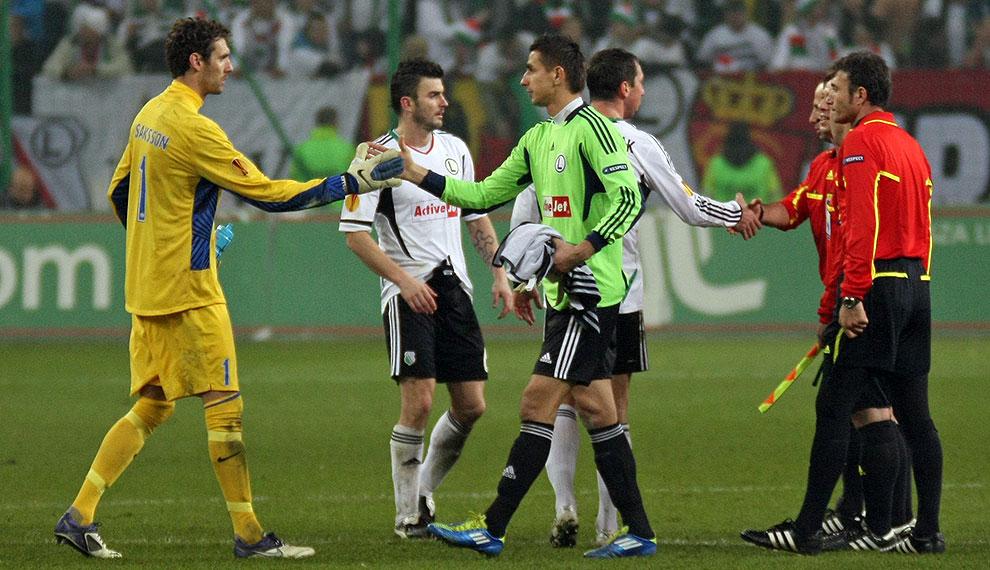 Legia Warszawa 0-3 PSV Eindhoven - fot. Piotr Galas (zdjęcie 39 z 42)