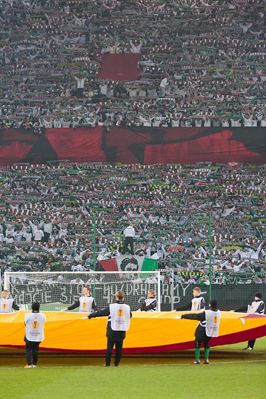 Legia Warszawa 0-3 PSV Eindhoven - fot. Piotr Galas (zdjęcie 6 z 42)