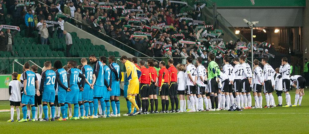 Legia Warszawa 0-3 PSV Eindhoven - fot. Piotr Galas (zdjęcie 7 z 42)