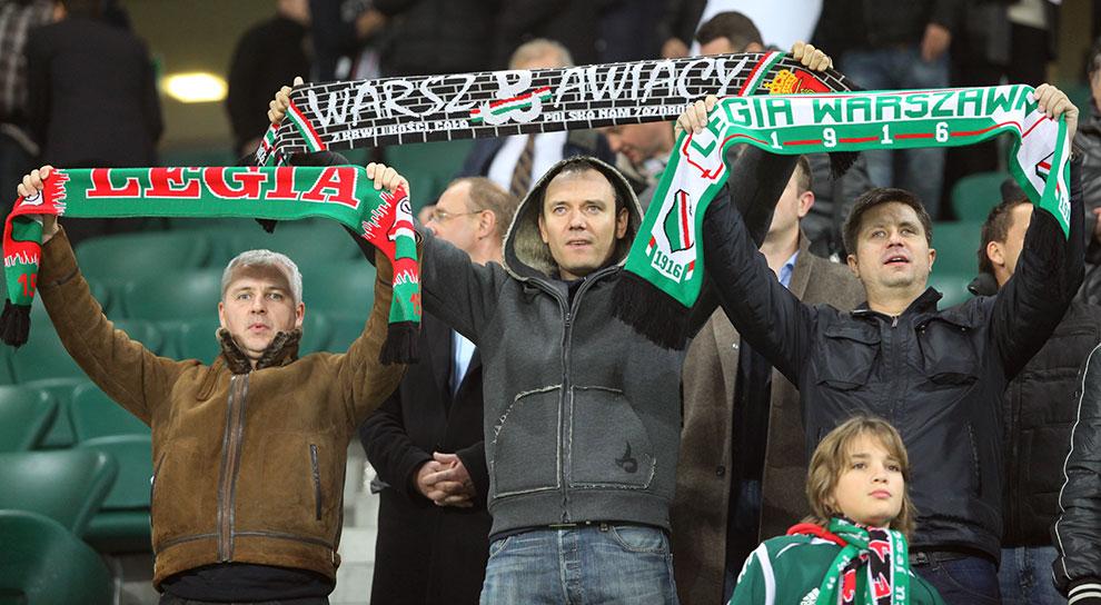 Legia Warszawa 3-1 Rapid Bukareszt - fot. Piotr Galas (zdjęcie 1 z 94)