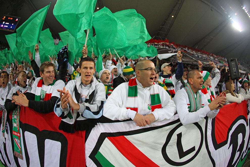 Legia Warszawa 3-1 Rapid Bukareszt - fot. Piotr Galas (zdjęcie 13 z 94)