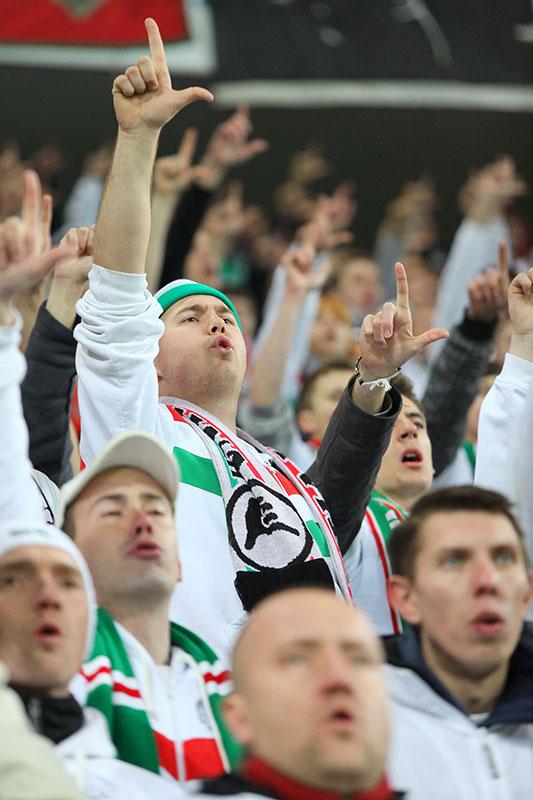 Legia Warszawa 3-1 Rapid Bukareszt - fot. Piotr Galas (zdjęcie 15 z 94)