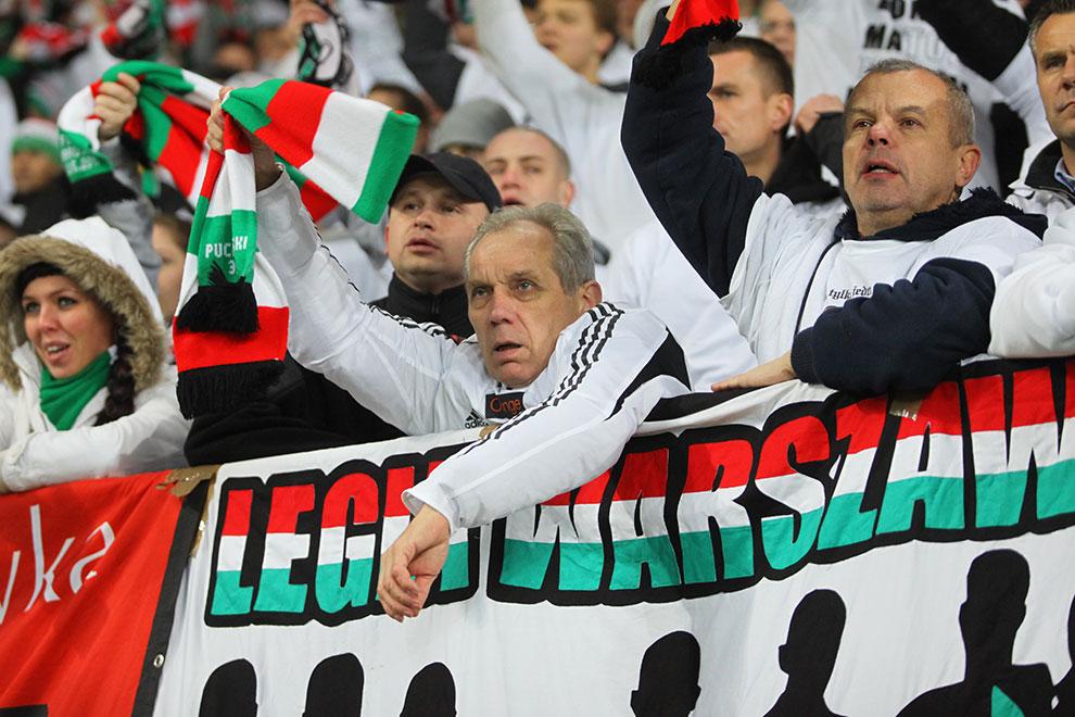 Legia Warszawa 3-1 Rapid Bukareszt - fot. Piotr Galas (zdjęcie 18 z 94)