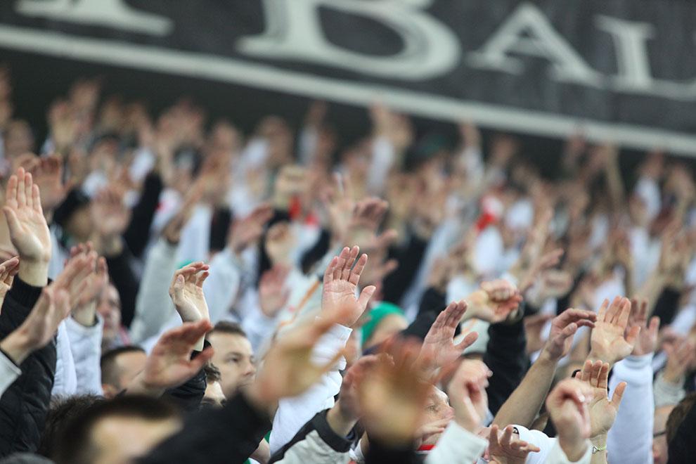 Legia Warszawa 3-1 Rapid Bukareszt - fot. Piotr Galas (zdjęcie 19 z 94)