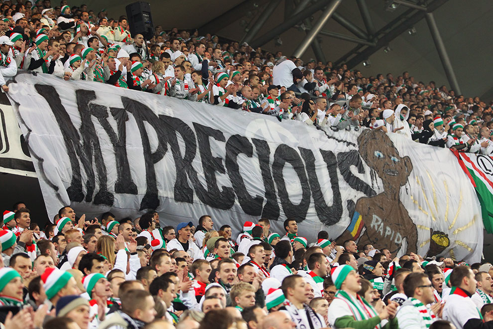 Legia Warszawa 3-1 Rapid Bukareszt - fot. Piotr Galas (zdjęcie 21 z 94)