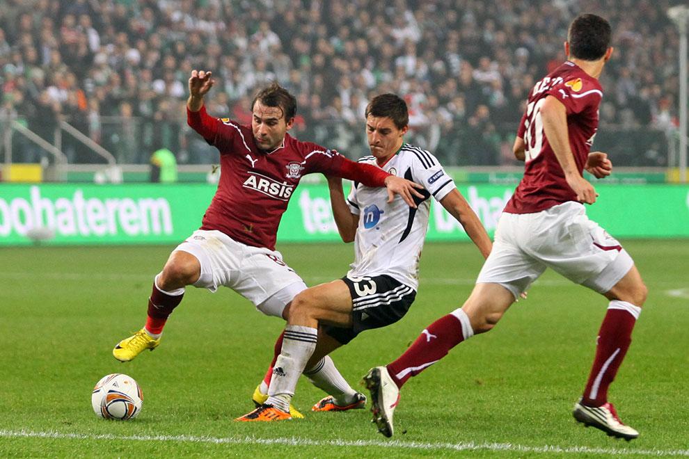 Legia Warszawa 3-1 Rapid Bukareszt - fot. Piotr Galas (zdjęcie 27 z 94)