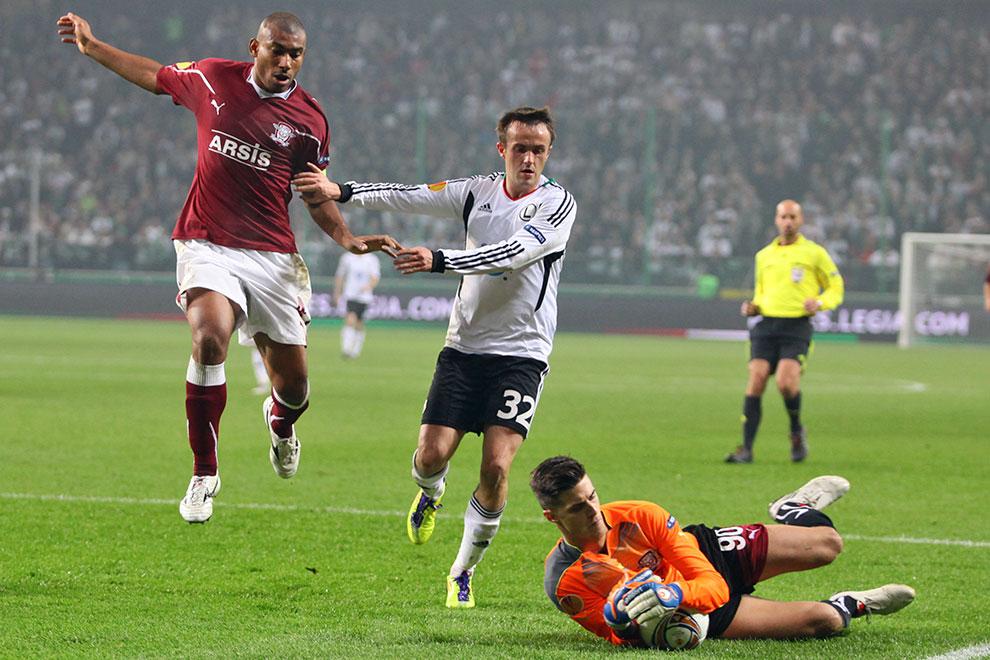 Legia Warszawa 3-1 Rapid Bukareszt - fot. Piotr Galas (zdjęcie 28 z 94)