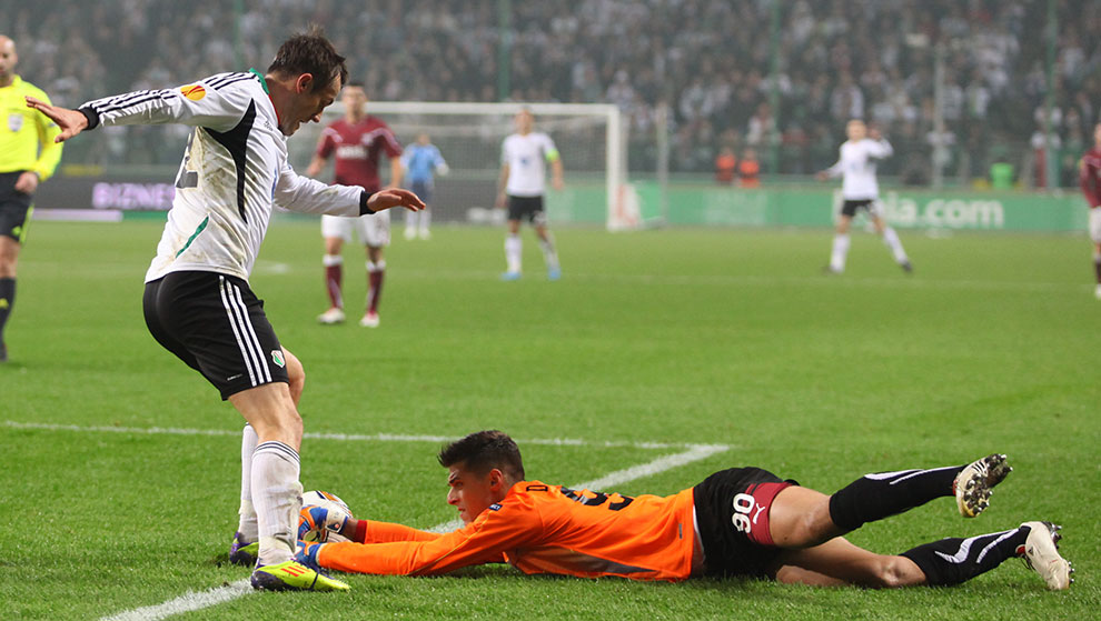 Legia Warszawa 3-1 Rapid Bukareszt - fot. Piotr Galas (zdjęcie 29 z 94)