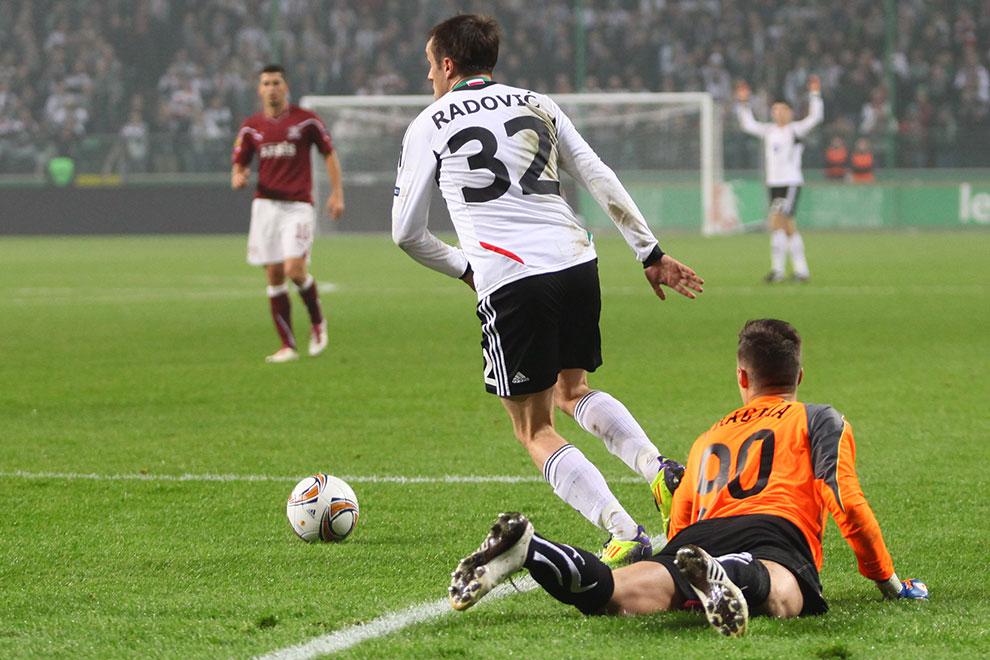 Legia Warszawa 3-1 Rapid Bukareszt - fot. Piotr Galas (zdjęcie 30 z 94)