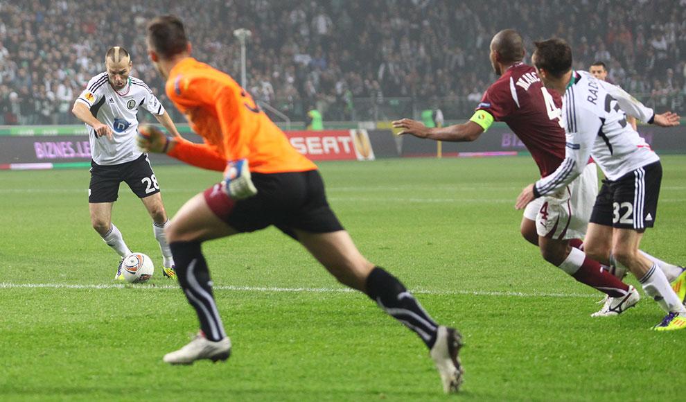 Legia Warszawa 3-1 Rapid Bukareszt - fot. Piotr Galas (zdjęcie 31 z 94)