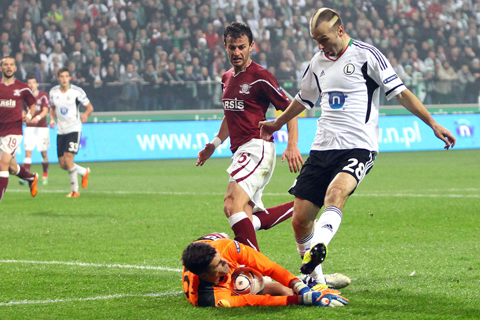 Legia Warszawa 3-1 Rapid Bukareszt - fot. Piotr Galas (zdjęcie 32 z 94)