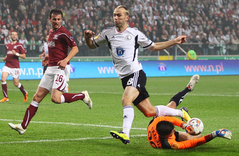 Legia Warszawa 3-1 Rapid Bukareszt - fot. Piotr Galas (zdjęcie 33 z 94)