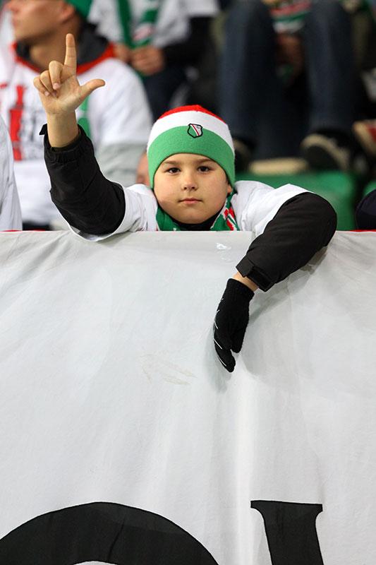 Legia Warszawa 3-1 Rapid Bukareszt - fot. Piotr Galas (zdjęcie 35 z 94)