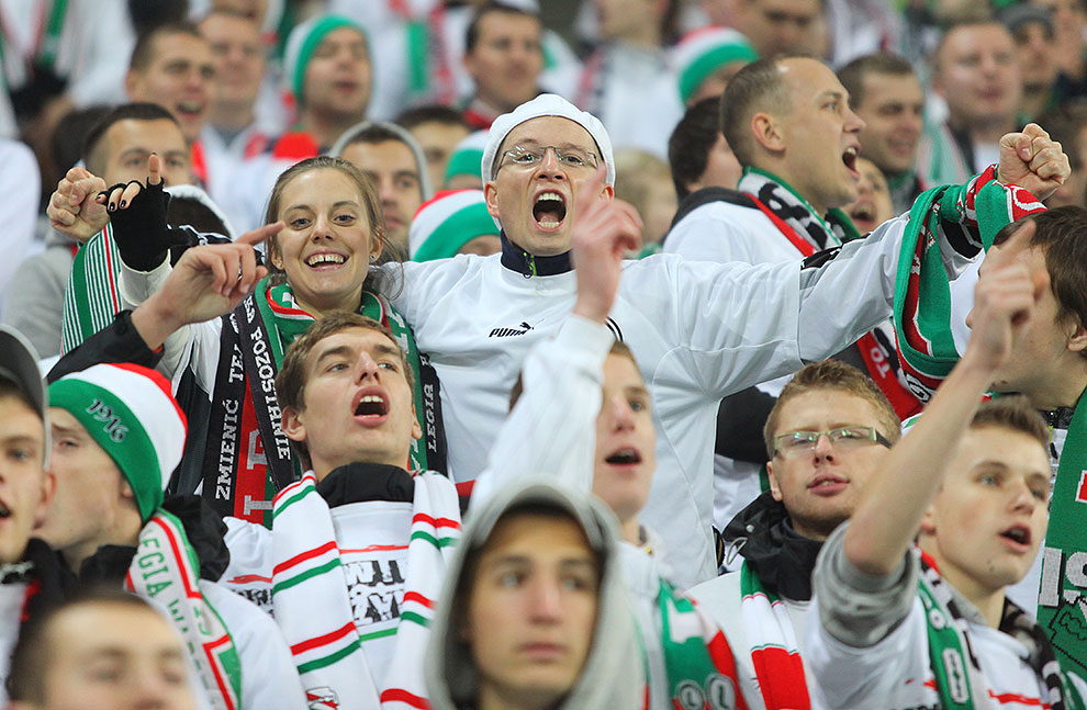 Legia Warszawa 3-1 Rapid Bukareszt - fot. Piotr Galas (zdjęcie 38 z 94)