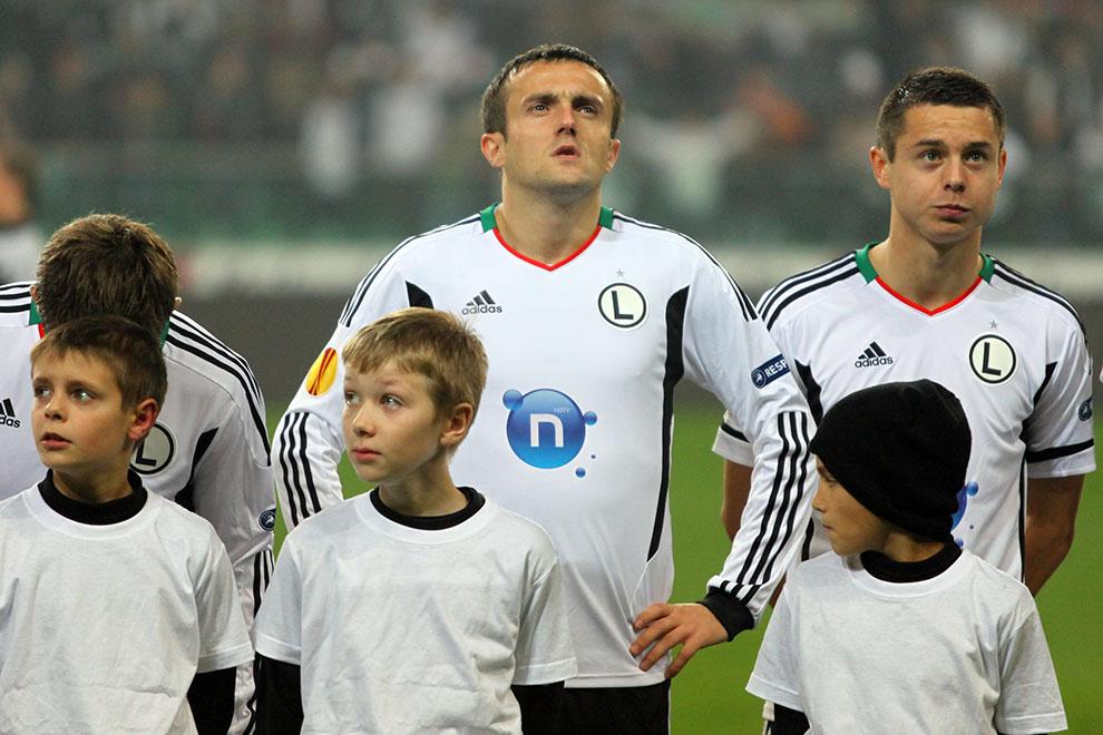 Legia Warszawa 3-1 Rapid Bukareszt - fot. Piotr Galas (zdjęcie 4 z 94)