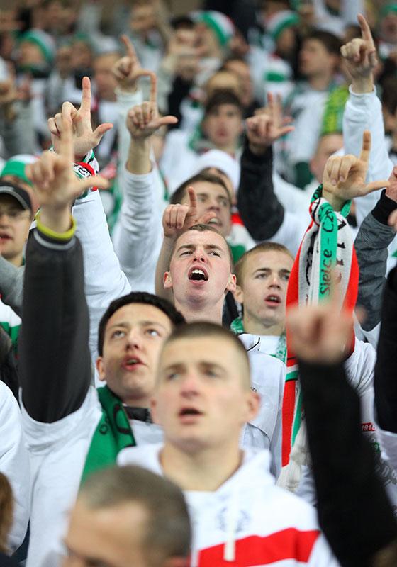 Legia Warszawa 3-1 Rapid Bukareszt - fot. Piotr Galas (zdjęcie 40 z 94)