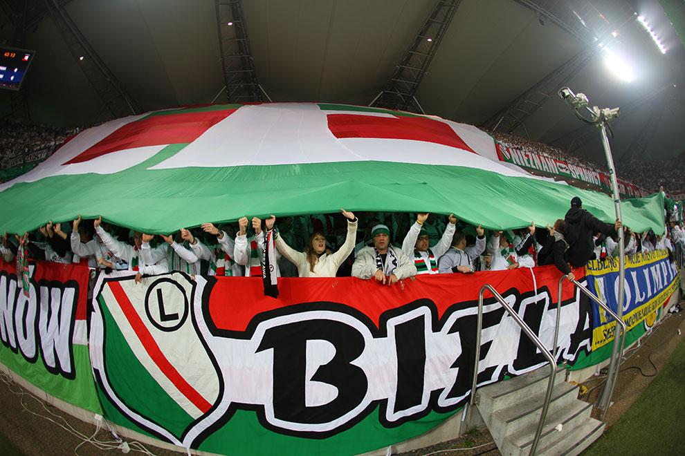Legia Warszawa 3-1 Rapid Bukareszt - fot. Piotr Galas (zdjęcie 41 z 94)