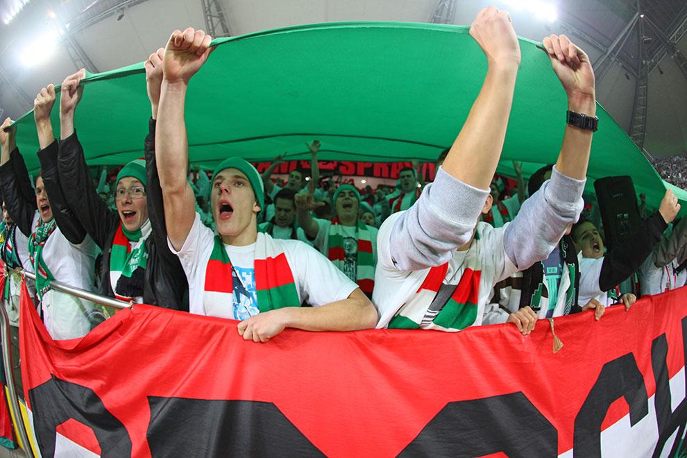 Legia Warszawa 3-1 Rapid Bukareszt - fot. Piotr Galas (zdjęcie 42 z 94)
