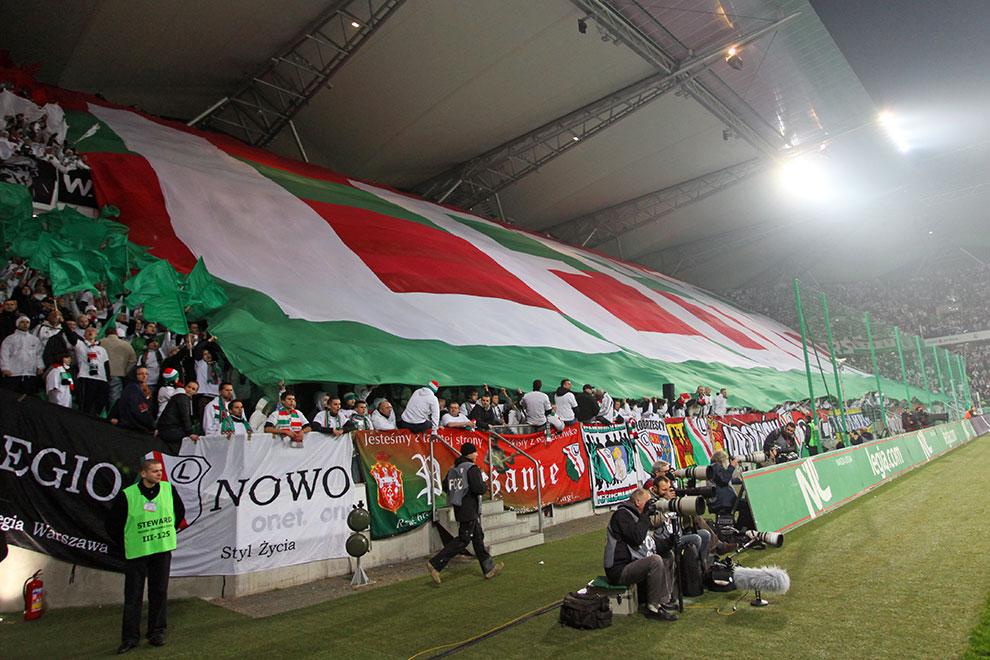 Legia Warszawa 3-1 Rapid Bukareszt - fot. Piotr Galas (zdjęcie 44 z 94)