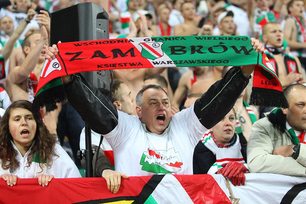 Legia Warszawa 3-1 Rapid Bukareszt - fot. Piotr Galas (zdjęcie 45 z 94)
