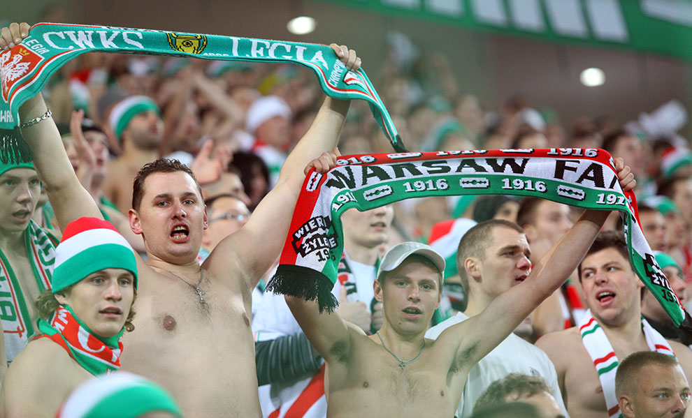 Legia Warszawa 3-1 Rapid Bukareszt - fot. Piotr Galas (zdjęcie 47 z 94)