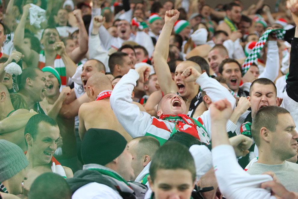 Legia Warszawa 3-1 Rapid Bukareszt - fot. Piotr Galas (zdjęcie 48 z 94)