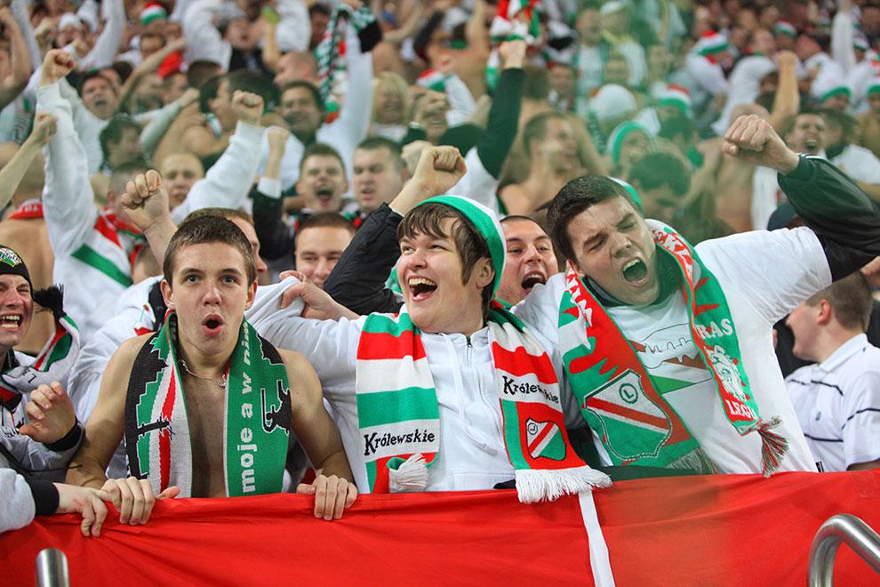 Legia Warszawa 3-1 Rapid Bukareszt - fot. Piotr Galas (zdjęcie 49 z 94)