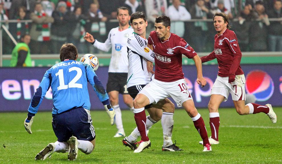 Legia Warszawa 3-1 Rapid Bukareszt - fot. Piotr Galas (zdjęcie 54 z 94)
