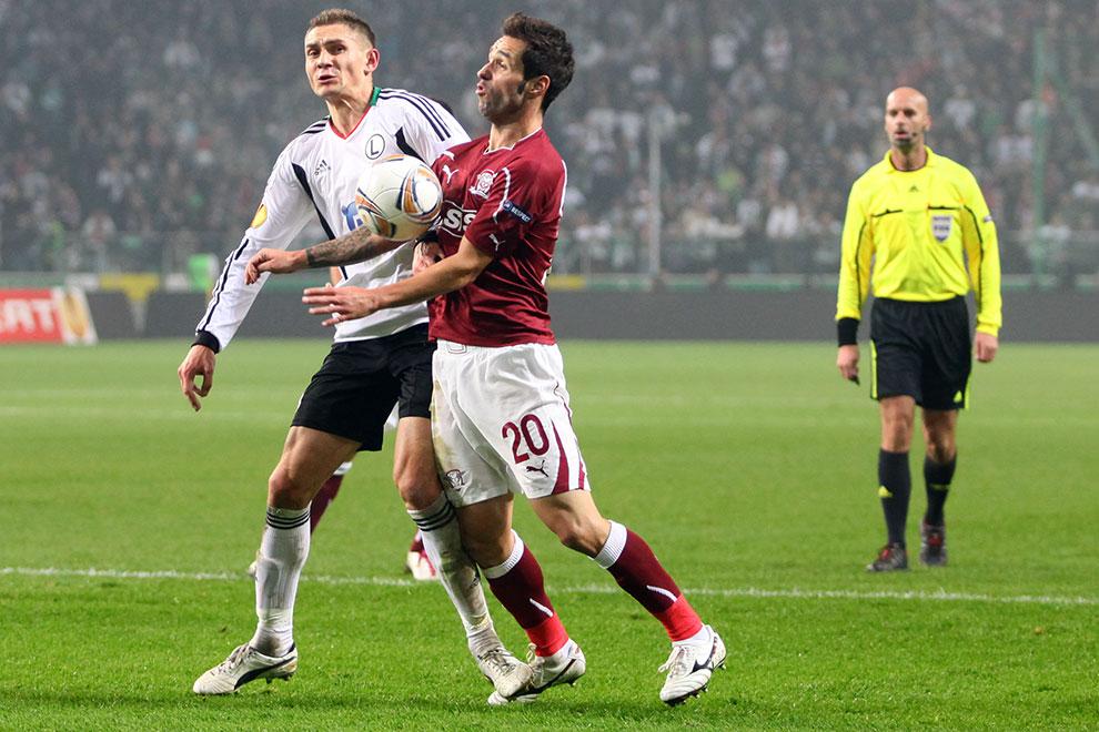 Legia Warszawa 3-1 Rapid Bukareszt - fot. Piotr Galas (zdjęcie 56 z 94)