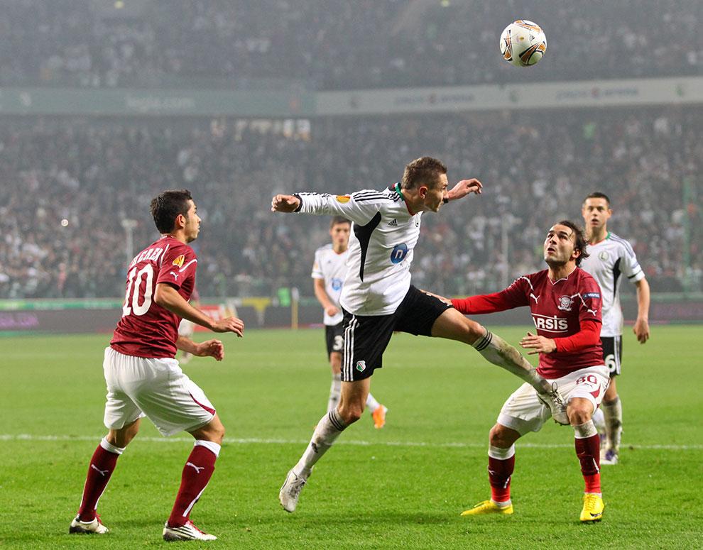 Legia Warszawa 3-1 Rapid Bukareszt - fot. Piotr Galas (zdjęcie 57 z 94)