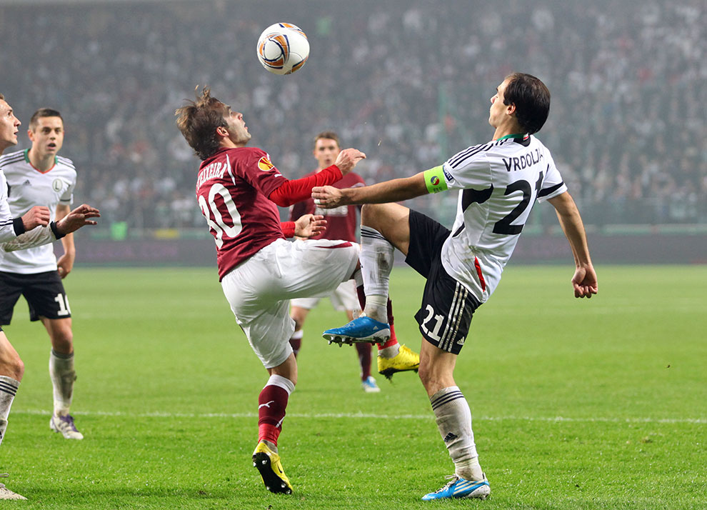 Legia Warszawa 3-1 Rapid Bukareszt - fot. Piotr Galas (zdjęcie 58 z 94)