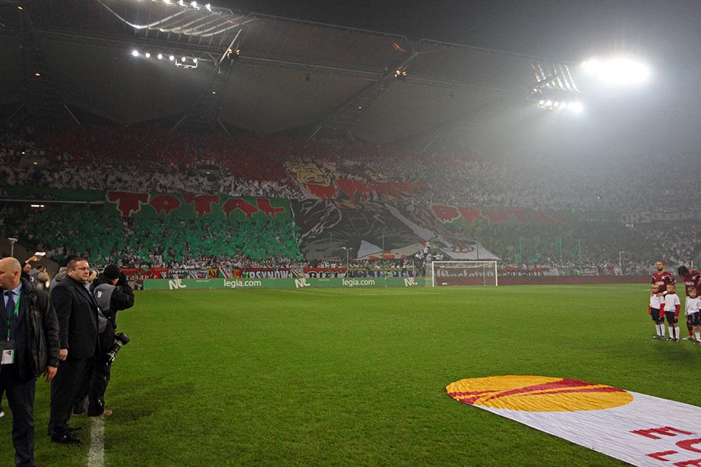 Legia Warszawa 3-1 Rapid Bukareszt - fot. Piotr Galas (zdjęcie 6 z 94)