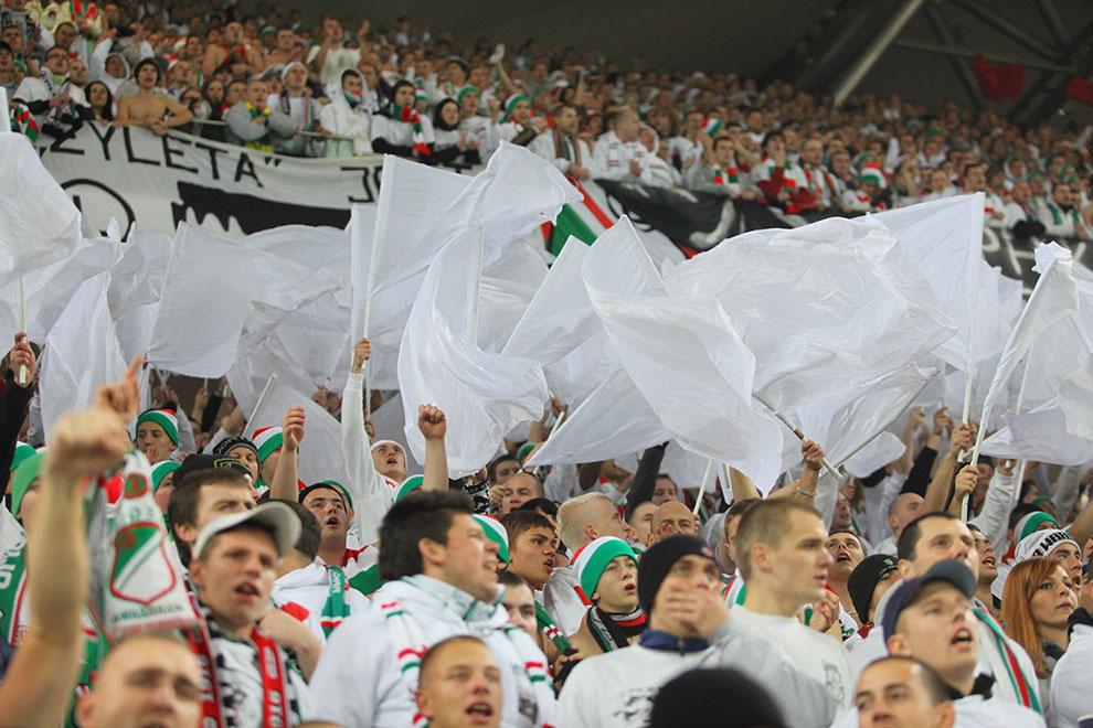 Legia Warszawa 3-1 Rapid Bukareszt - fot. Piotr Galas (zdjęcie 61 z 94)
