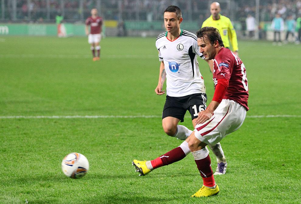 Legia Warszawa 3-1 Rapid Bukareszt - fot. Piotr Galas (zdjęcie 62 z 94)