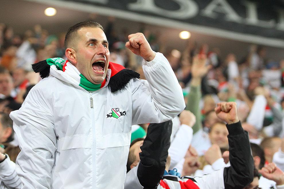 Legia Warszawa 3-1 Rapid Bukareszt - fot. Piotr Galas (zdjęcie 63 z 94)