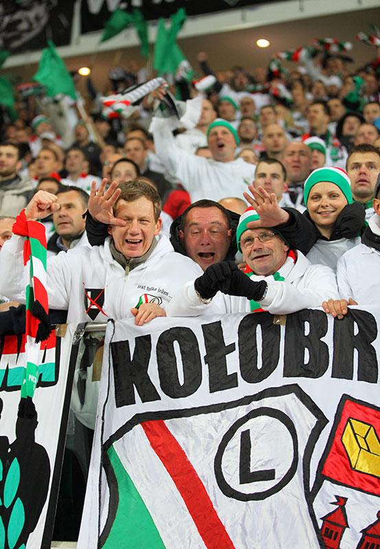 Legia Warszawa 3-1 Rapid Bukareszt - fot. Piotr Galas (zdjęcie 66 z 94)