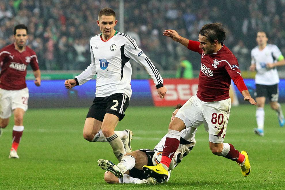 Legia Warszawa 3-1 Rapid Bukareszt - fot. Piotr Galas (zdjęcie 71 z 94)