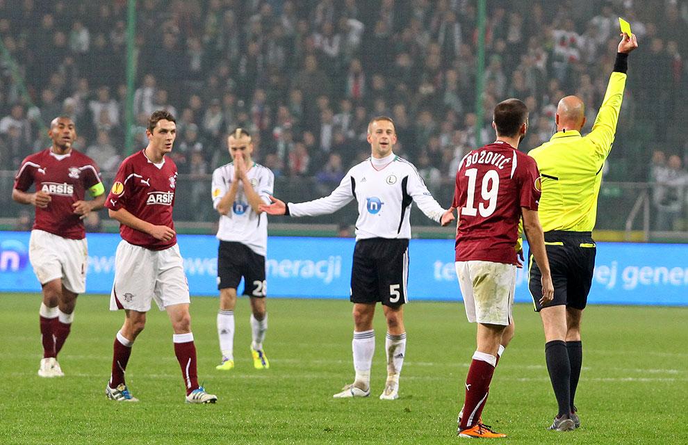 Legia Warszawa 3-1 Rapid Bukareszt - fot. Piotr Galas (zdjęcie 72 z 94)